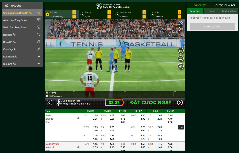 Cách cá độ bóng đá qua mạng tại V9bet Đầy đủ & Chi tiết nhất