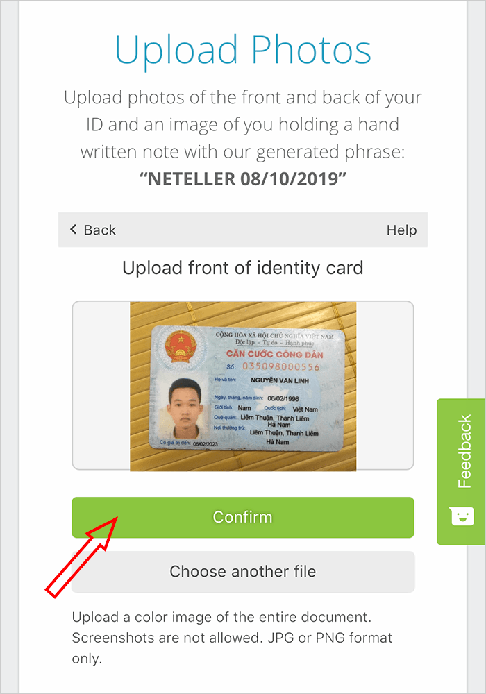 Hướng dẫn cách đăng ký Neteller + Xác minh tài khoản chỉ 2'