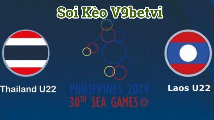 Soi kèo U22 Thái Lan và U22 Lào tại vòng bảng B Sea Games 30